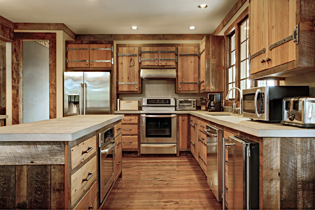Kitchen  Classic Cabin  Custom Cabinets Houston