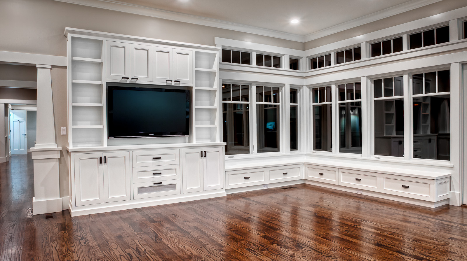 custom cabinets houston entertainment center 4