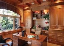 Cabinet Home Office Design Ideas