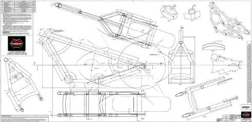 Motorcycle Frame Plans