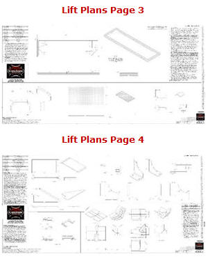 table lift plans