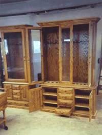 Wood Projects List, Custom Gun Cabinet Designs