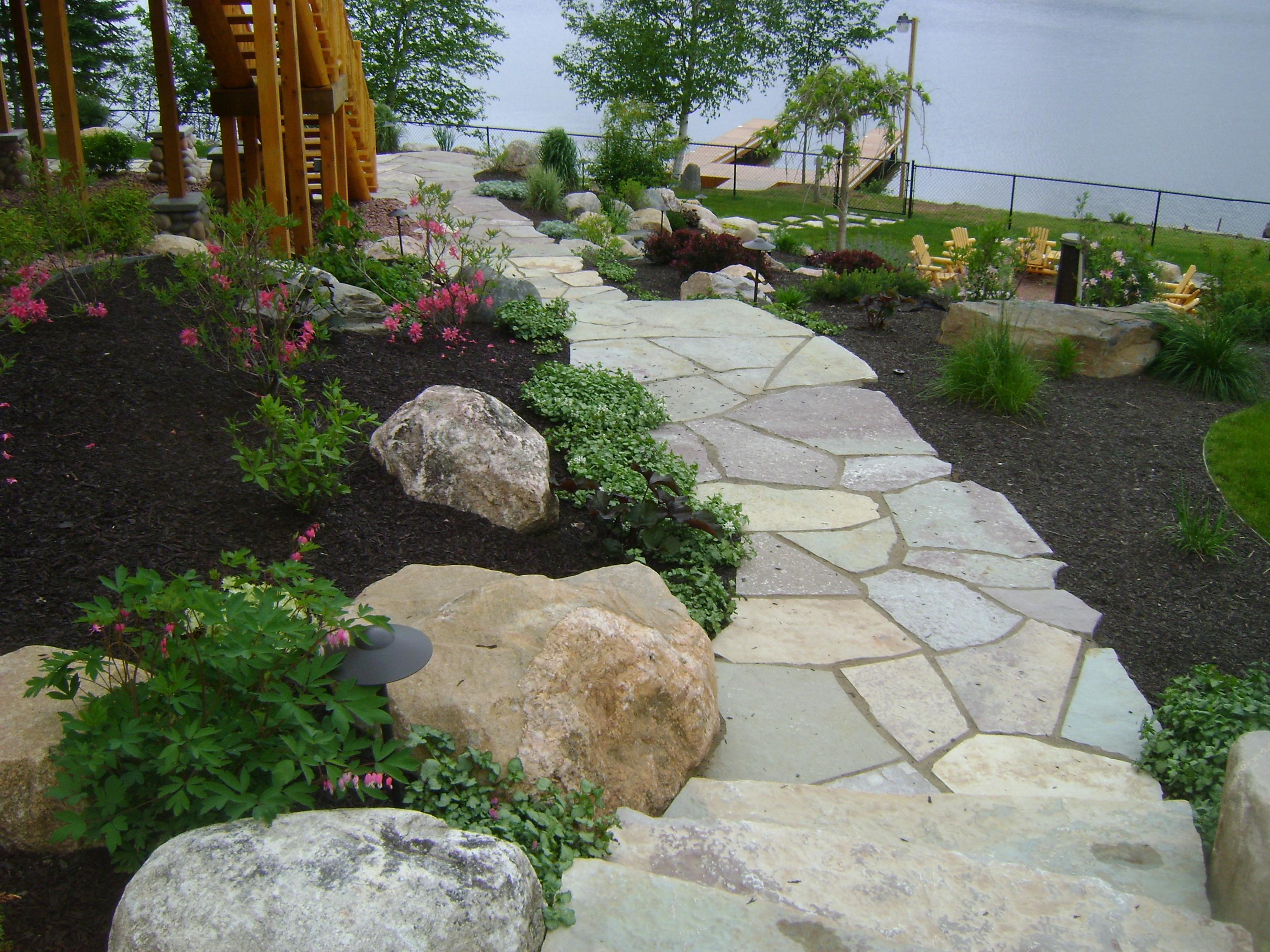 Walkways Steps  Stairs Gallery  Custom Landscaping