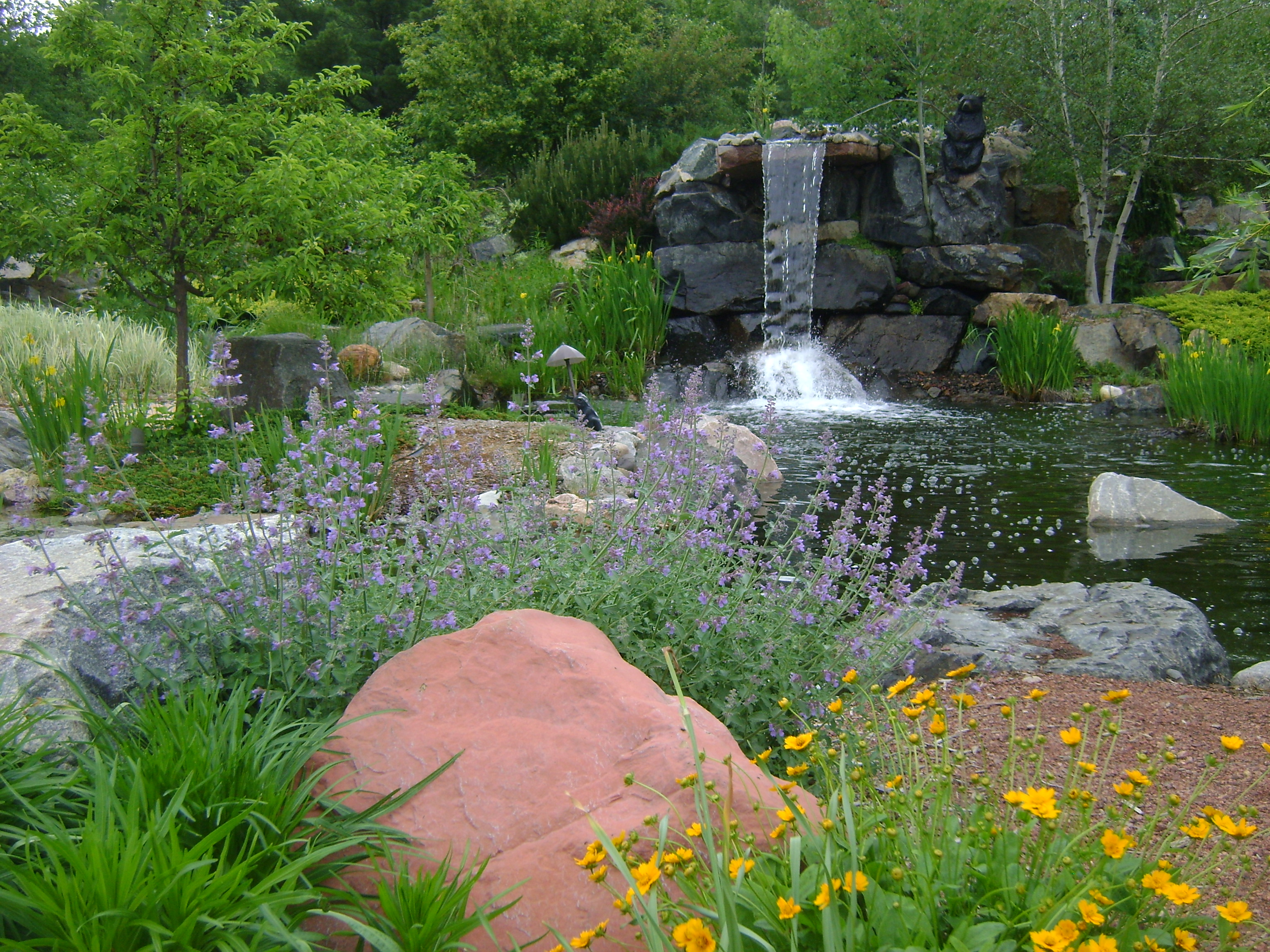Water Features Gallery  Custom Landscaping