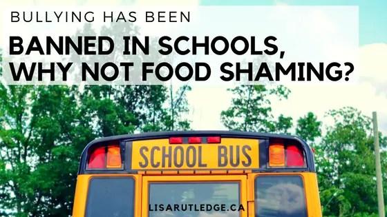 ban food shaming in schools