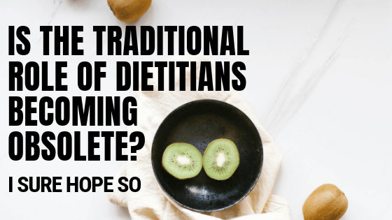 role of dietitians