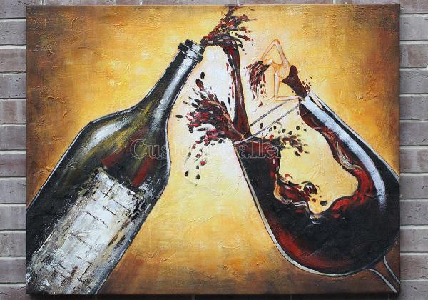 Custom Modern Oil Paintings Art Reproduction