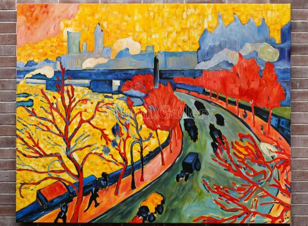 Modern Art Oil Painting Gallery