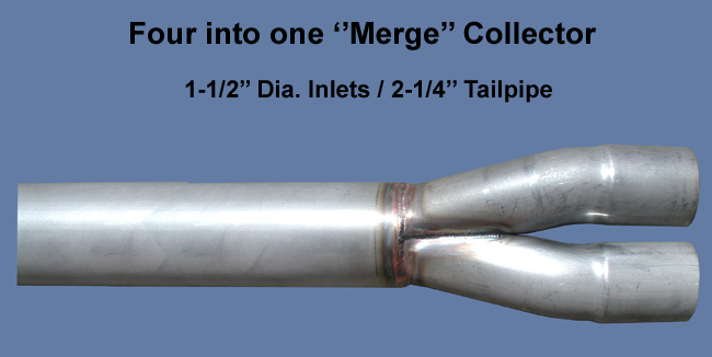 1 5 8 merge collector 6 length stainless steel 4 into 1 2 1 2 od car truck exhaust pipes tips tu berlin auto parts and vehicles
