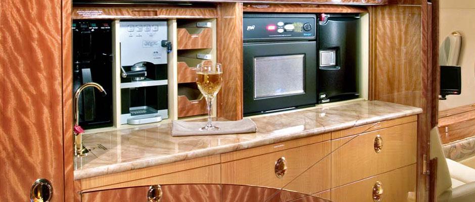 Custom Aircraft Cabinets
