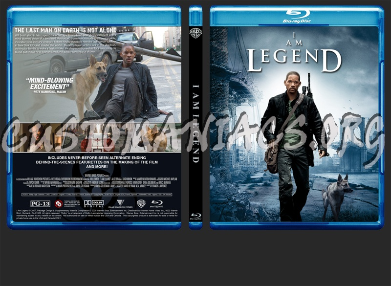 i am legend blu