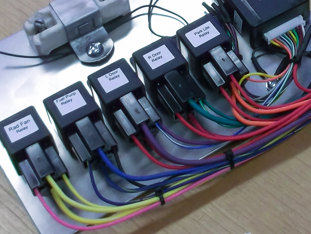 hight resolution of custom car wiring harness