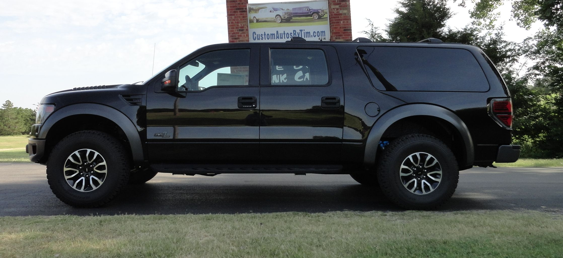 Ford Raptor SUV Conversion