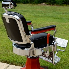 Old Barber Chairs Glider Chair With Ottoman Sale Project Antique - Welcome To Custom | Parts And ...