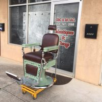 Project Antique Barber Chairs - Welcome to Custom Barber ...