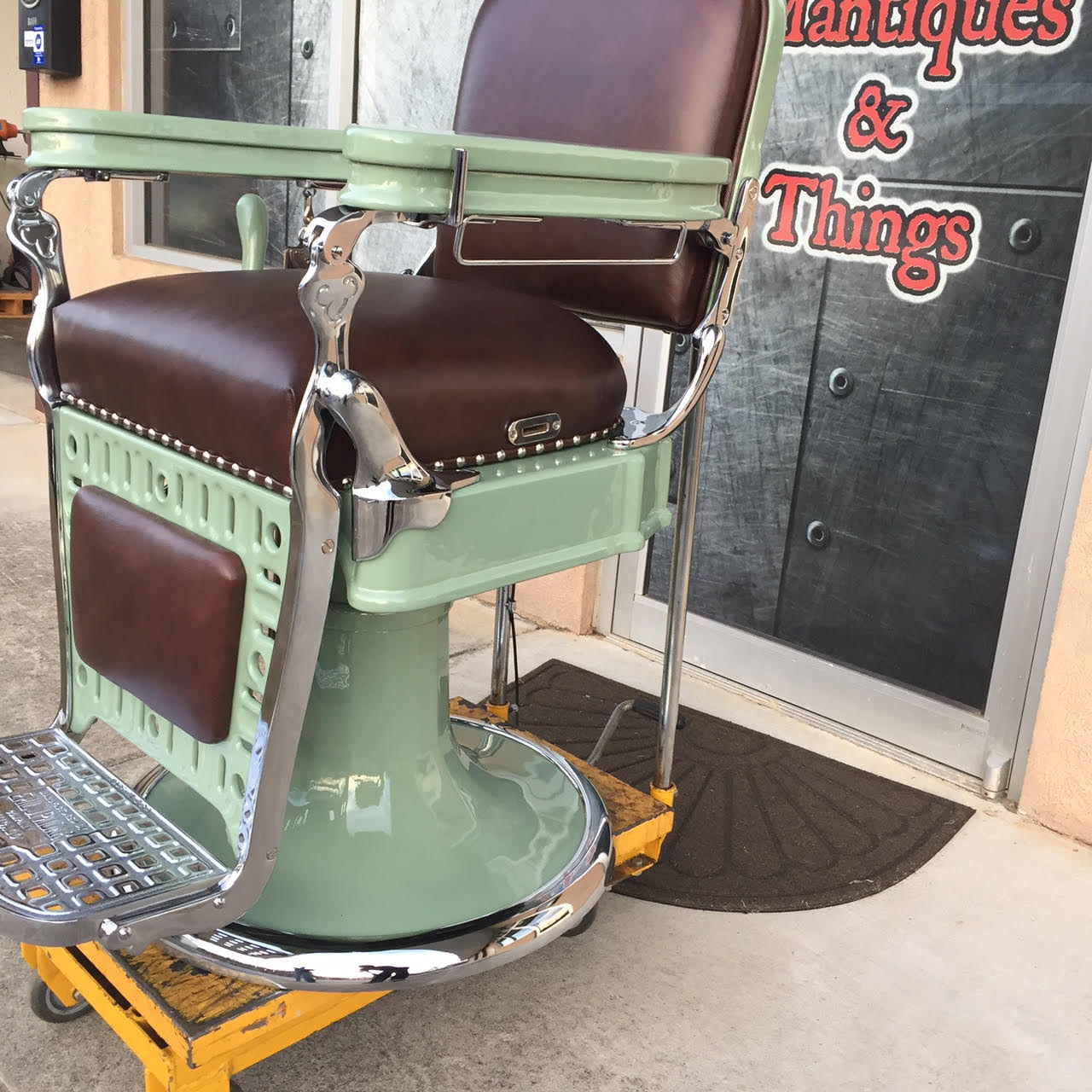 barber chair parts power recliner lift project antique chairs welcome to custom