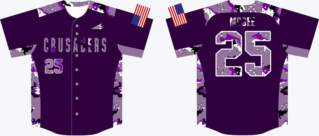 Download Crusaders Throwback Baseball Jerseys (McGee) - Custom ...