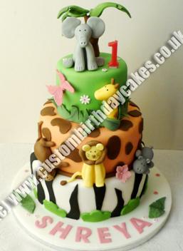 Boys Girls Custom Birthday Cakes Surrey