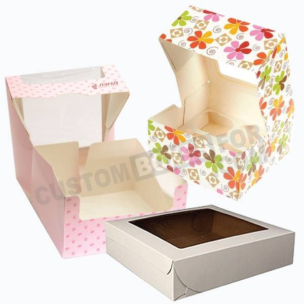 Bakery Boxes Custom Printed Bakery Boxes Wholesale