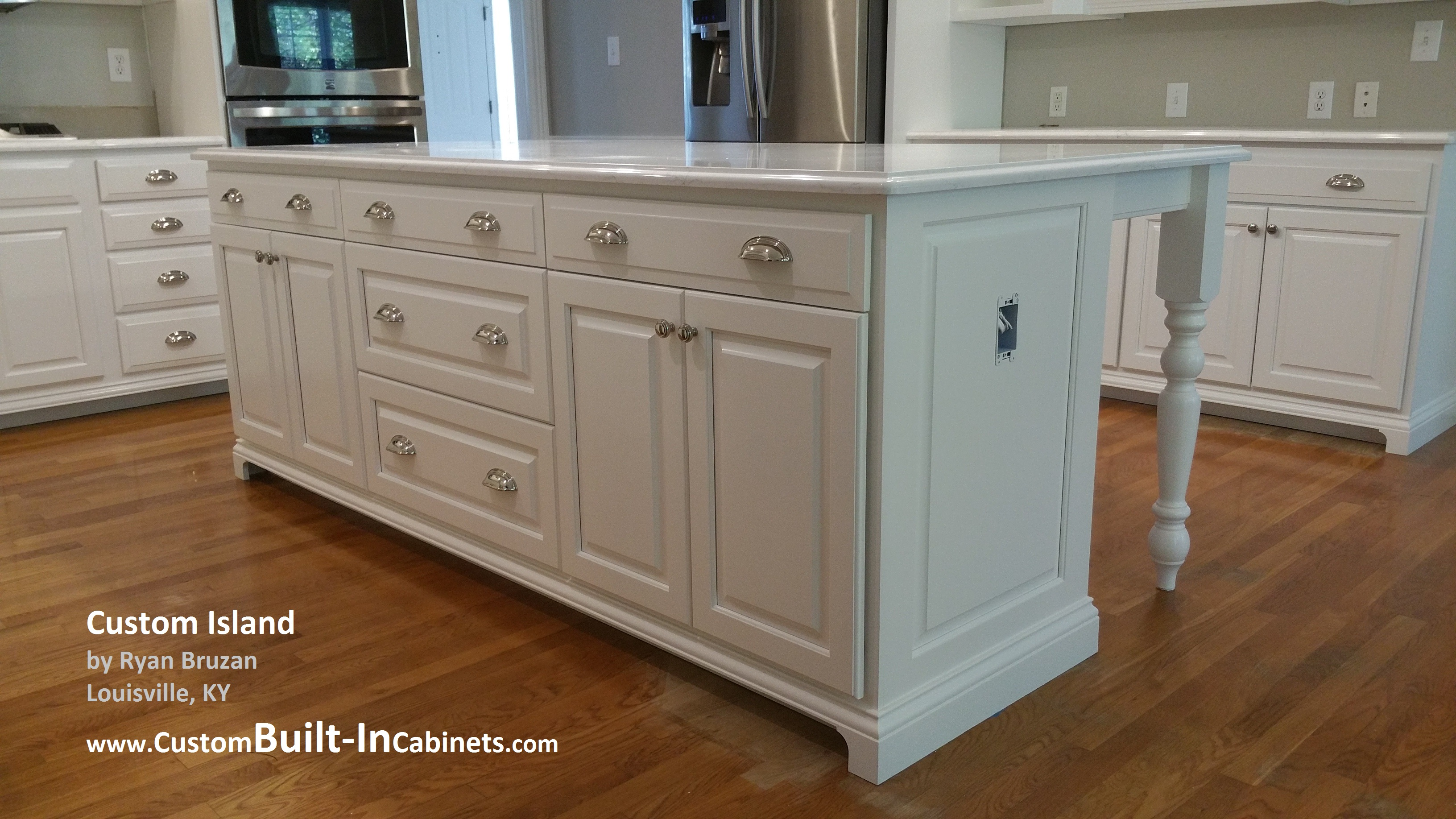 Custom BuiltIn Cabinet Services around Louisville KY