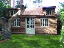 Log Cabin Garden