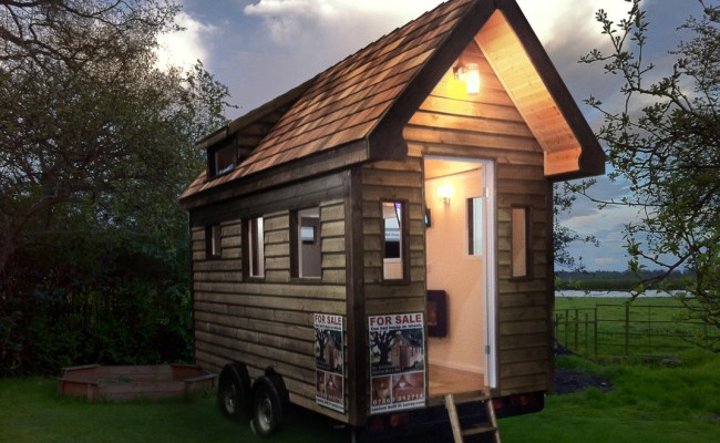 Tiny House S On Wheels For Sale In The Uk Custom Built