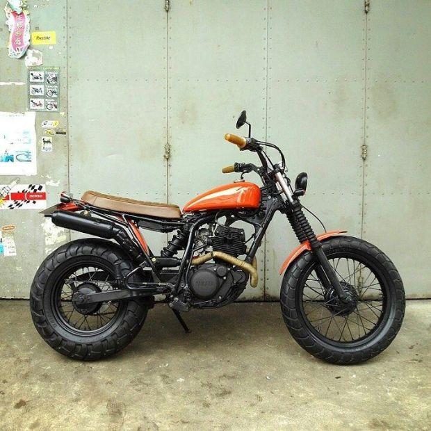 Yamaha custom tw200