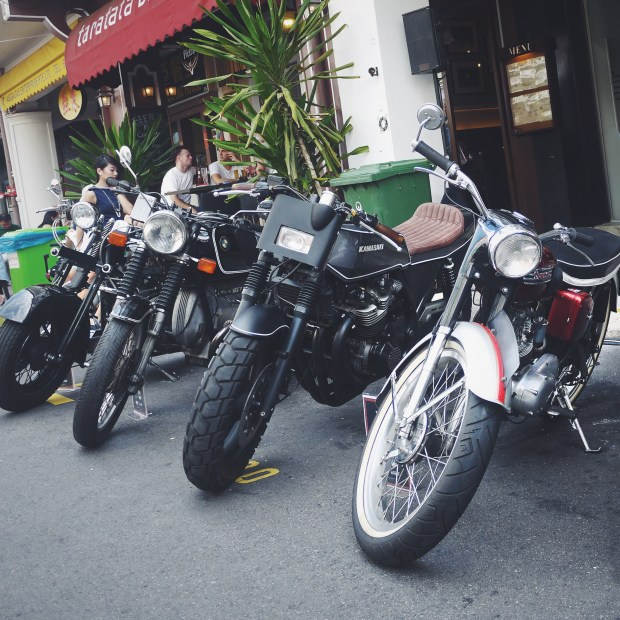 Custom and Classic Motorcycles in Singapore