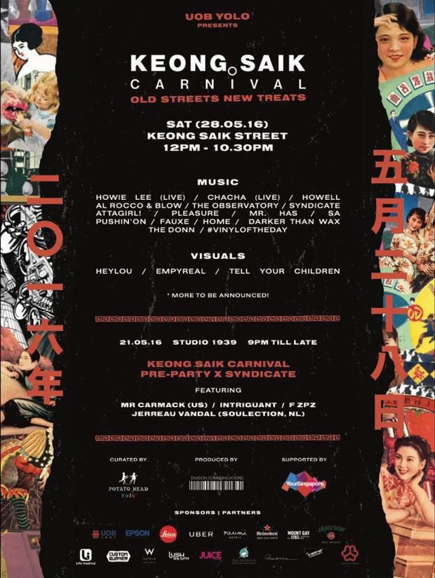 Keong Saik Carnival