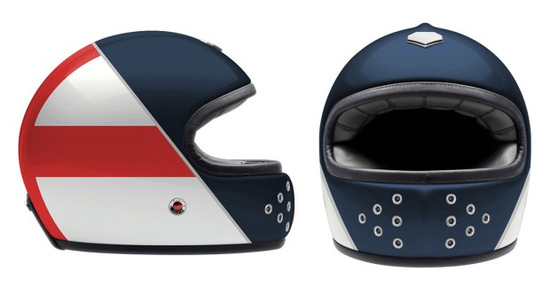 Helmet design by Custom Burner