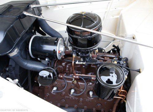 small resolution of beautifully balanced and restored ford flathead 8ba power gen alternator a single black stromberg custom cloth wiring loom and ignition wires everything