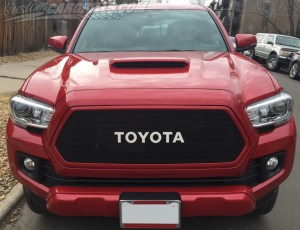 Custom Mesh Grills for Toyota Vehicles by customcargrills