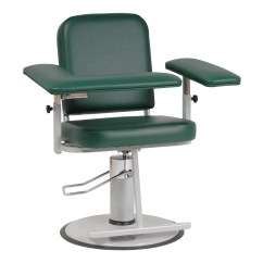 Blood Draw Chair Swivel Lock Chairs For Phlebotomy Custom Comfort Medtek Contoured Seat Adjustable Height