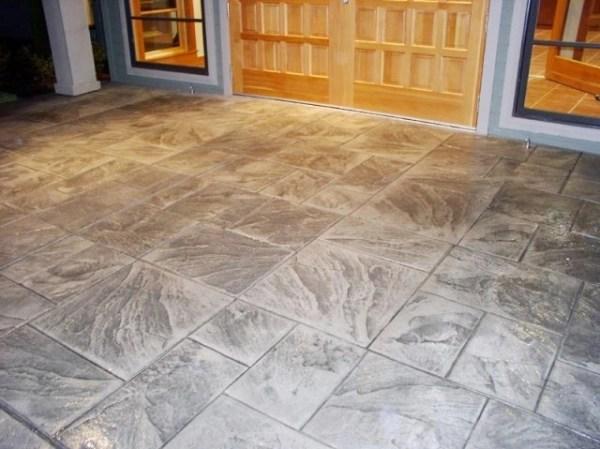 Decorative concrete surfaces offer lasting beauty  Custom