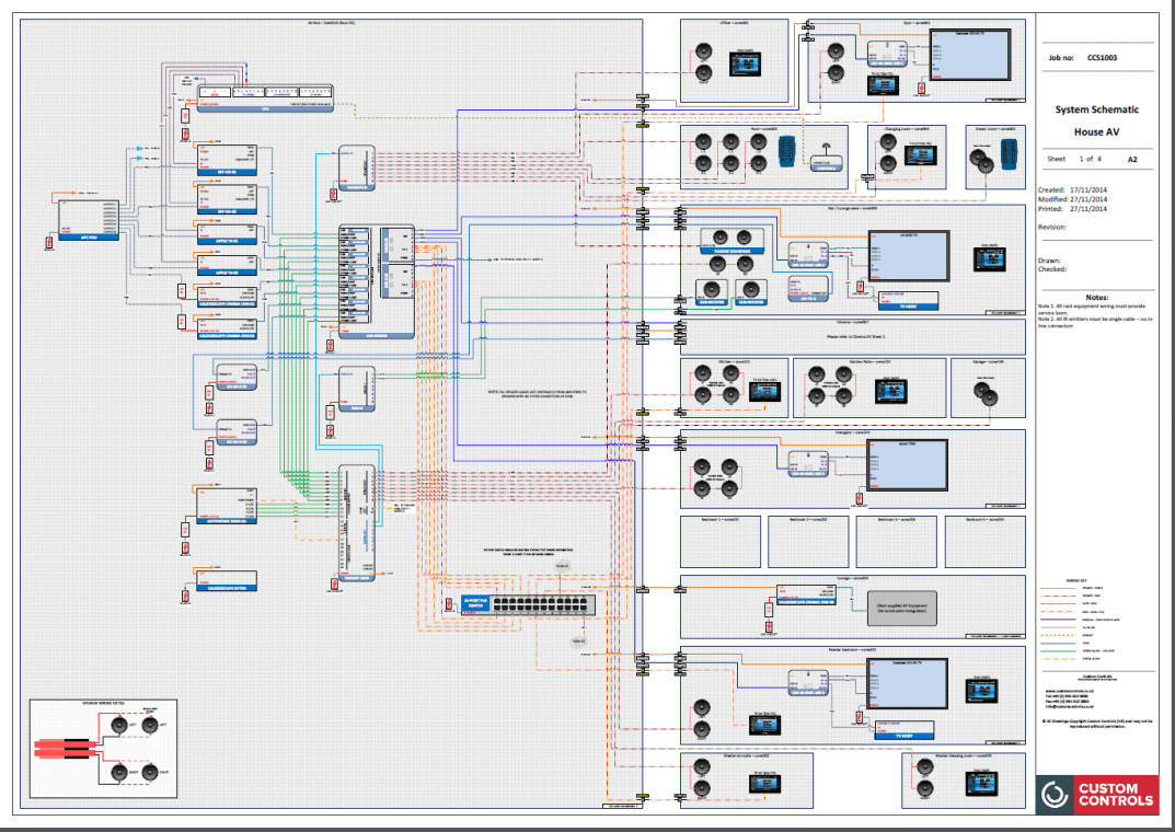hight resolution of audio video schematic