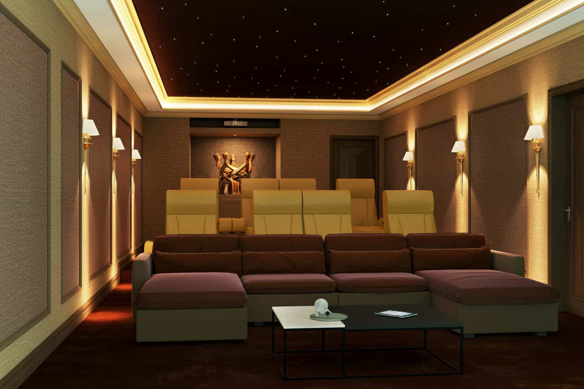 What Are The Best Type Of Lights To Use In A Home Cinema