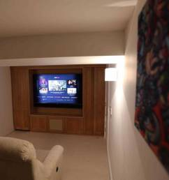 pimlico basement home cinema installation [ 1140 x 760 Pixel ]