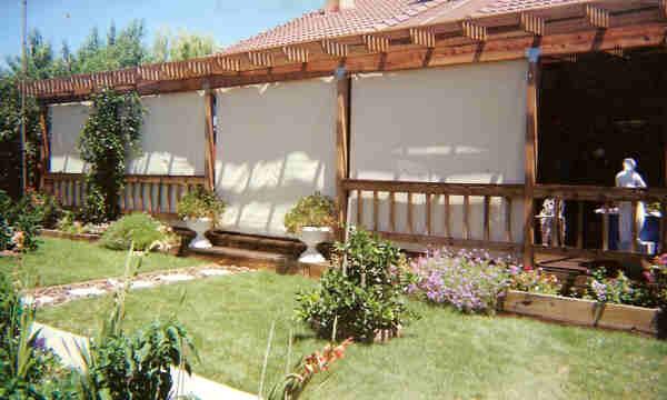 solar sun shades blinds patio
