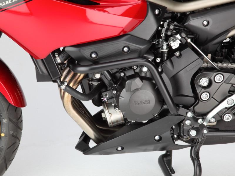 Yamaha XJ6 Crashbars Compact Design Engine Guard Black Magnum