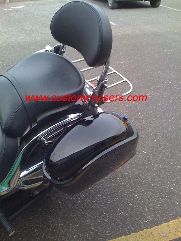 Yamaha XVS1100 Dragstar VStar Custom Saddlebags Panniers