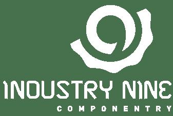 Industry Nine logo white