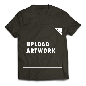 Upload your own artwork digital tees by Digilog Designs