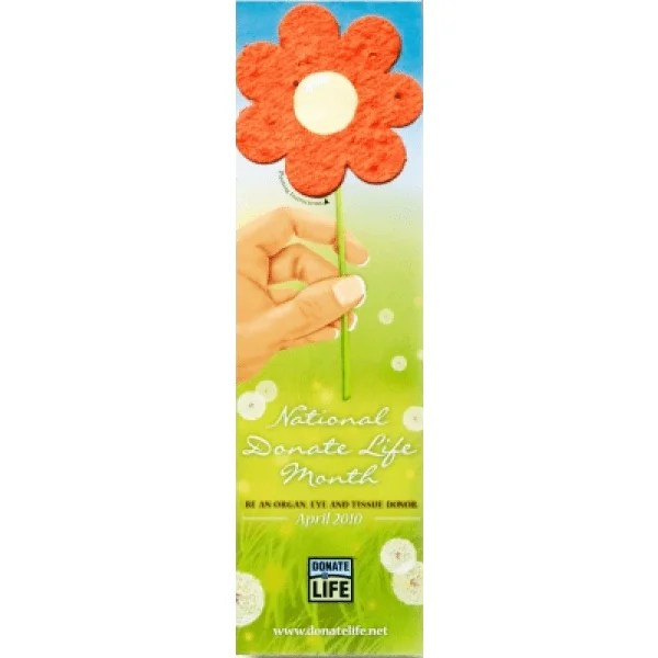 Seed Paper Bookmarks