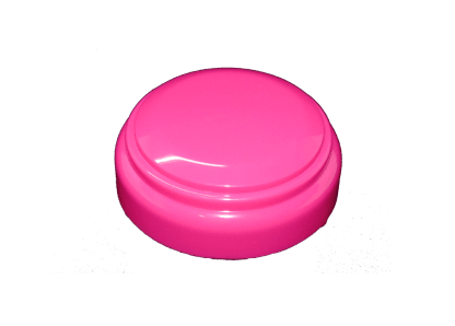 The All Pink Custom Easy Button called the Pink Surprise