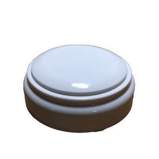 The All White Custom Easy Button with 30 seconds of sound