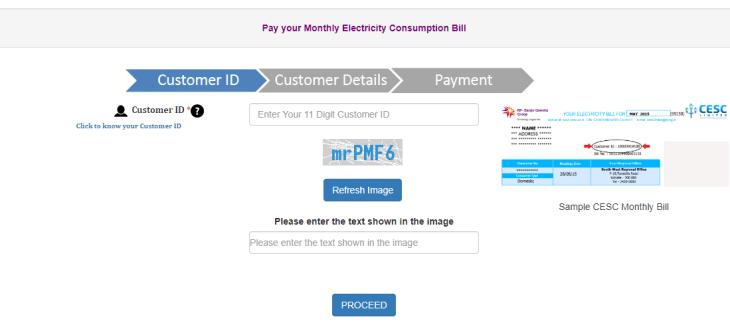 Cesc Bill Payment