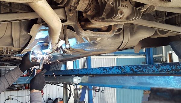 exhaust muffler repair replacement