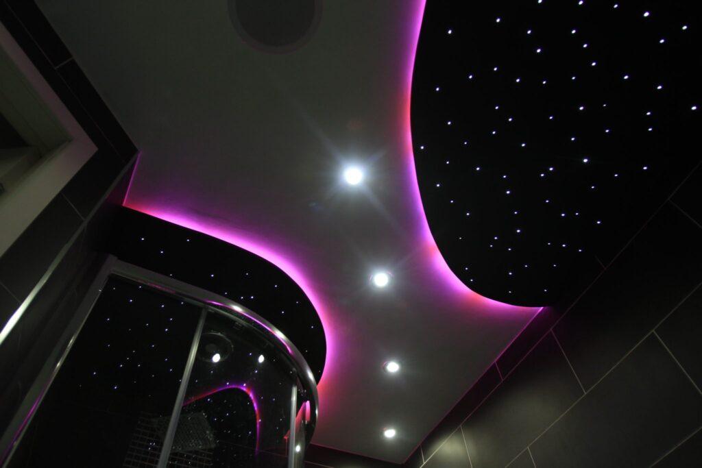 Starry Ceiling Panels Ceiling Tile Lights Custom Fibre