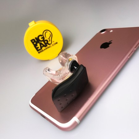 Cell Phone Ear Bud Adapter, Single Ear