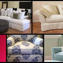Los Angeles Sofas Oversized Sofa Chair Custom Slipcovers Chairs